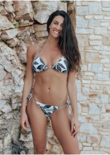 Black and White Bikini KASAI-full-1-